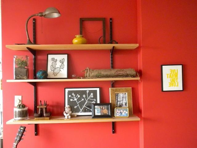 Wall Mounted Bookshelves Home Depot