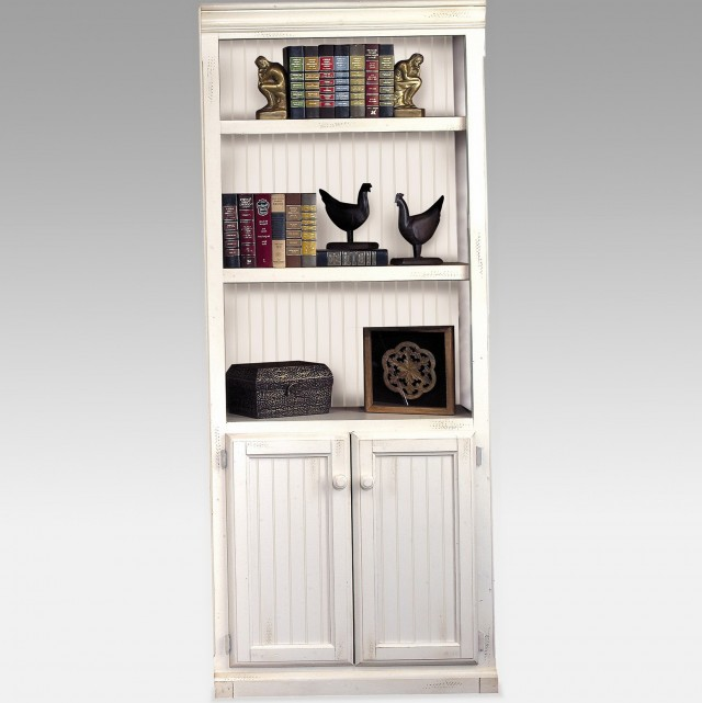White Bookcase With Doors Uk