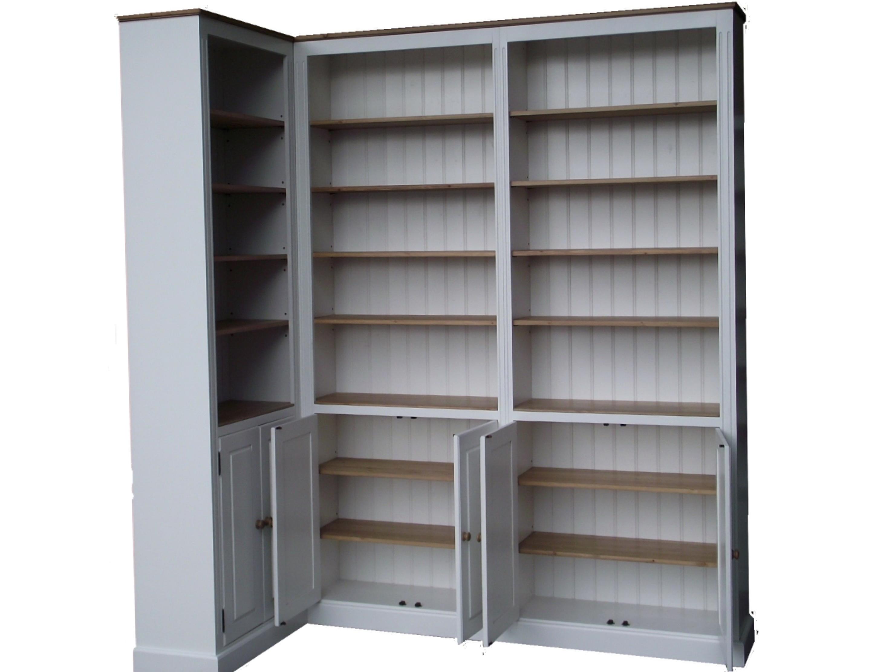 White Corner Bookcase Uk