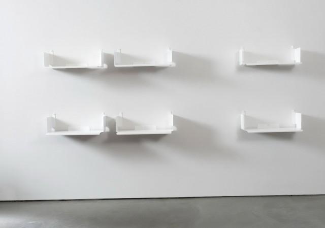 White Wall Bookshelf