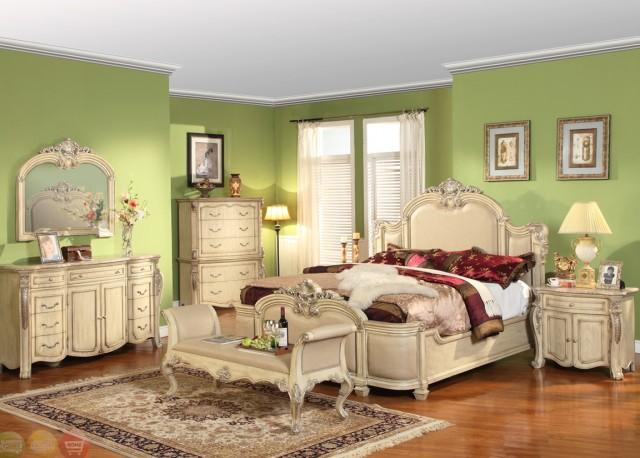 Antique White Dresser Bedroom Furniture