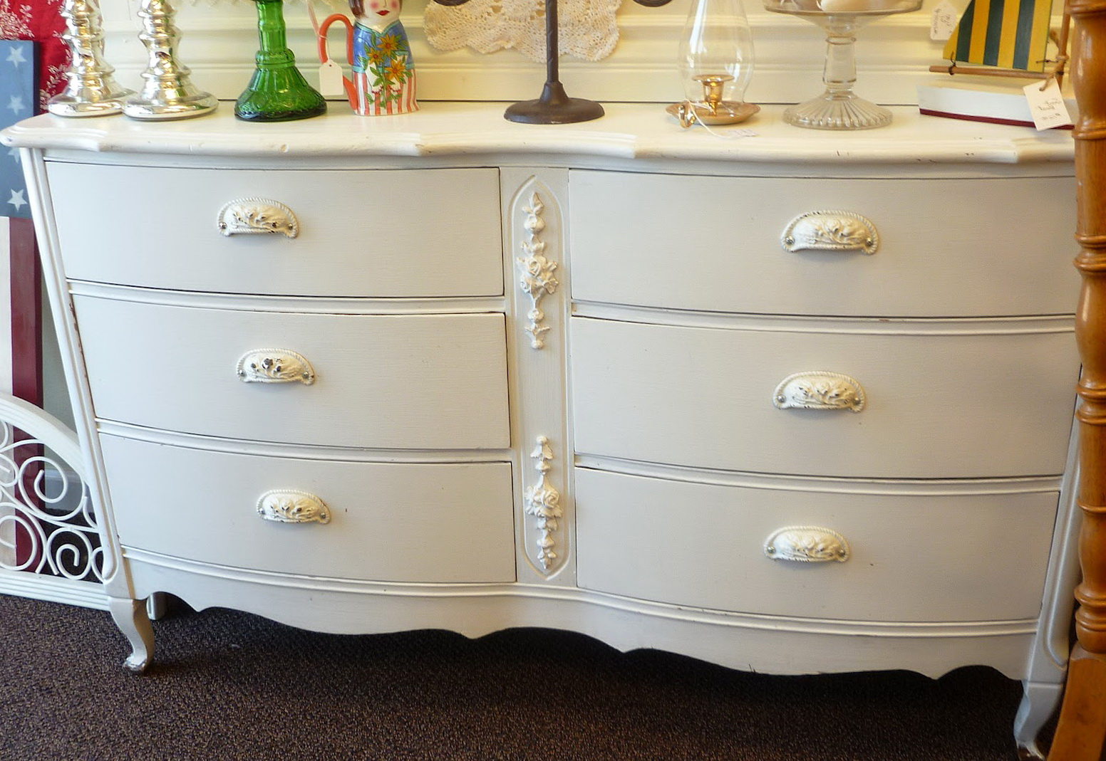Permalink to Antique White Dresser Pulls