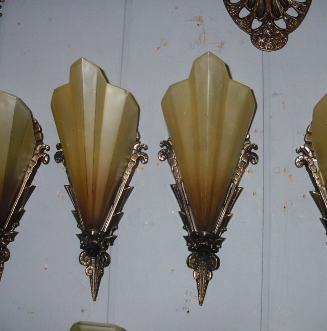 Art Deco Wall Sconces Lighting