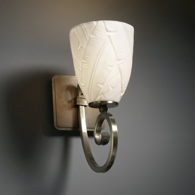 Wall Sconces With Fabric Shades Home Design Ideas
