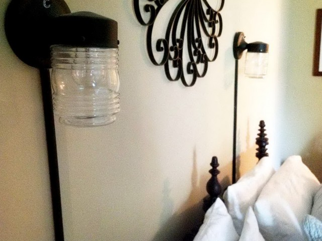 Bedside Wall Sconces Plug In