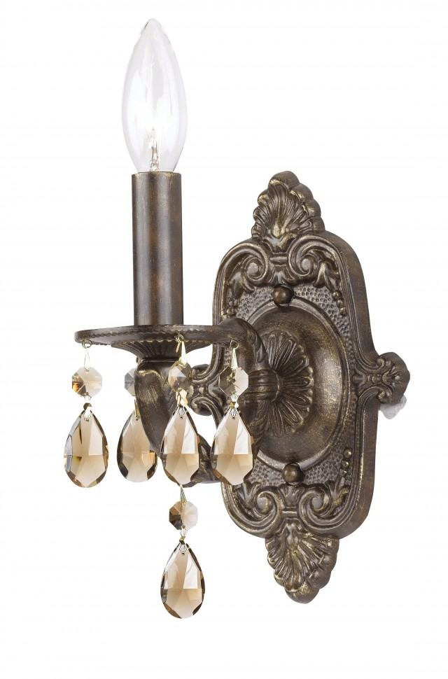 Bronze Crystal Wall Sconce  sc 1 st  Home Design Ideas & Bronze Elephant Trunk Wall Sconce | Home Design Ideas