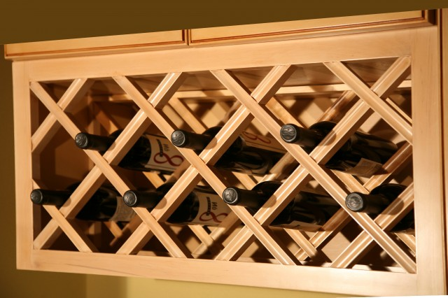 Nice Build A Wine Rack In A Cabinet