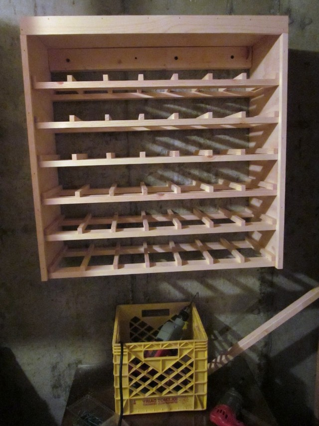 Build Wine Rack Video