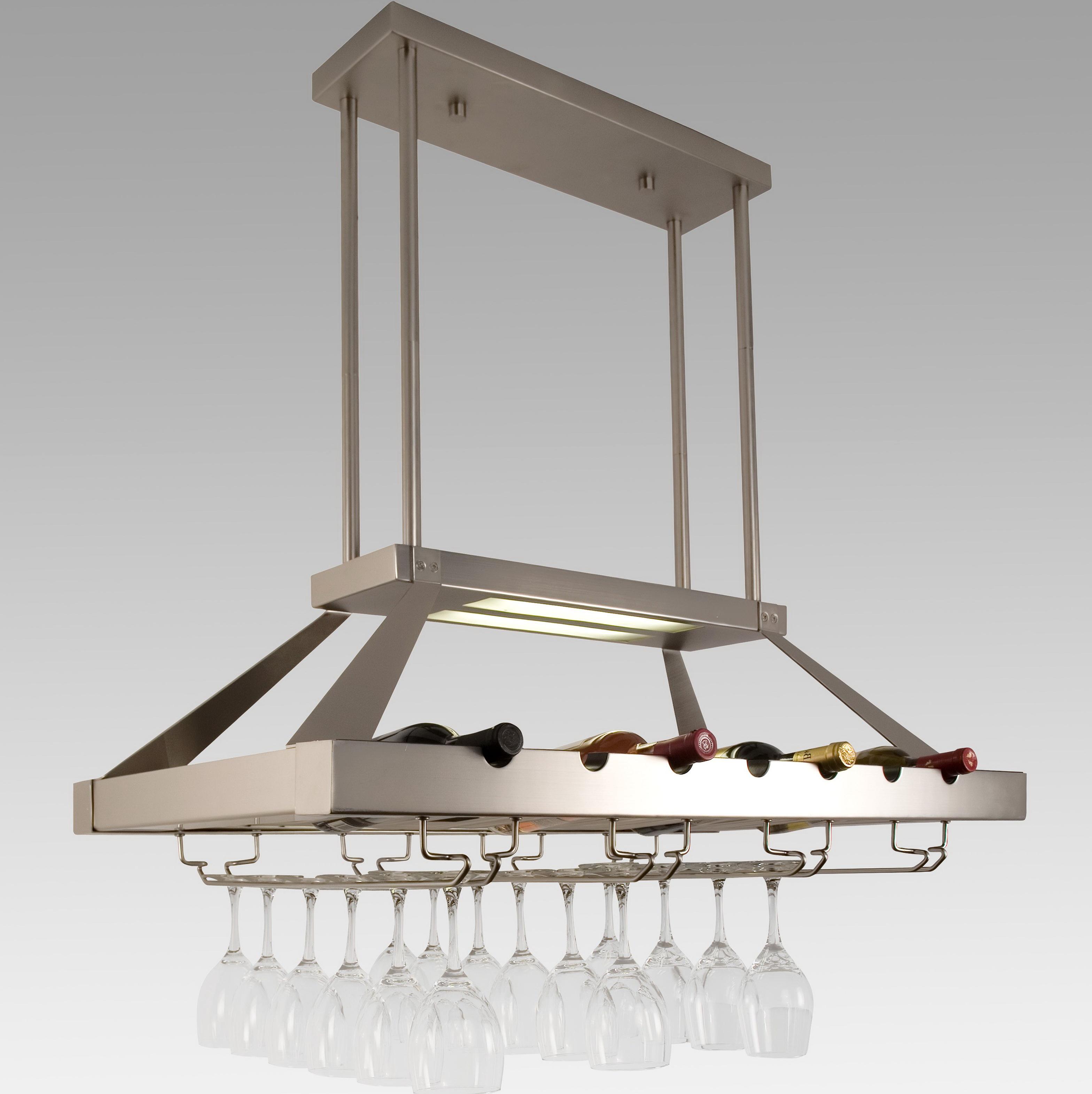 Ceiling Hanging Wine Rack Home Design Ideas