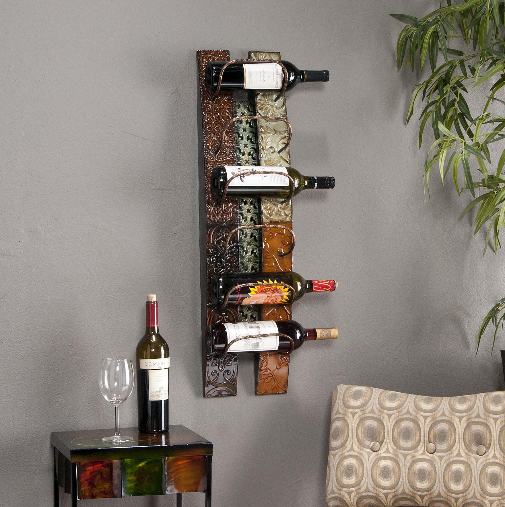 Diy Wall Mounted Wine Racks Home Design Ideas