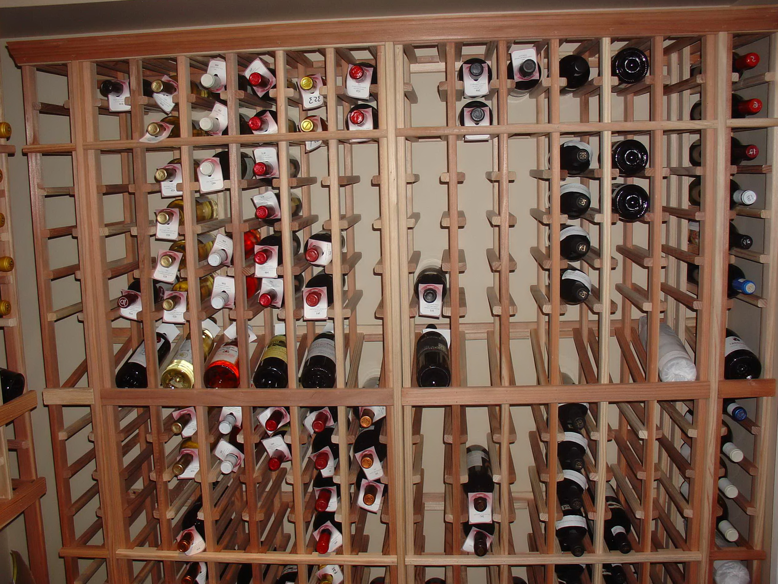 Wine rack cabinet insert wine cabinets beautiful built for How to build a wine rack in a cabinet