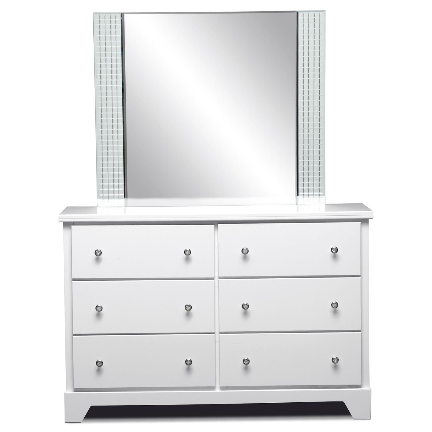 Permalink to Kids White Dresser With Mirror