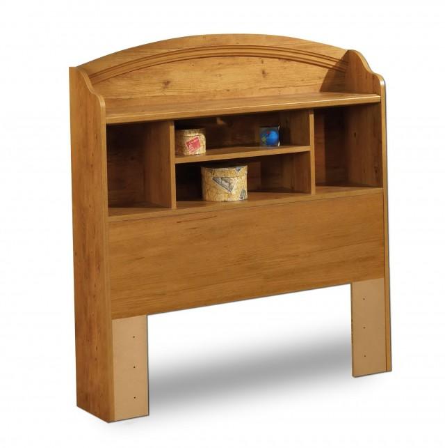 King Bookcase Headboard Oak