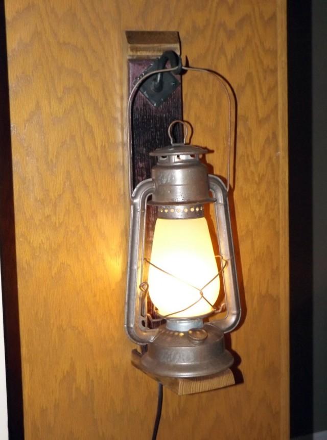 Lantern Wall Sconces Rustic