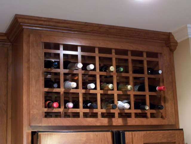 Lattice Wine Rack Insert