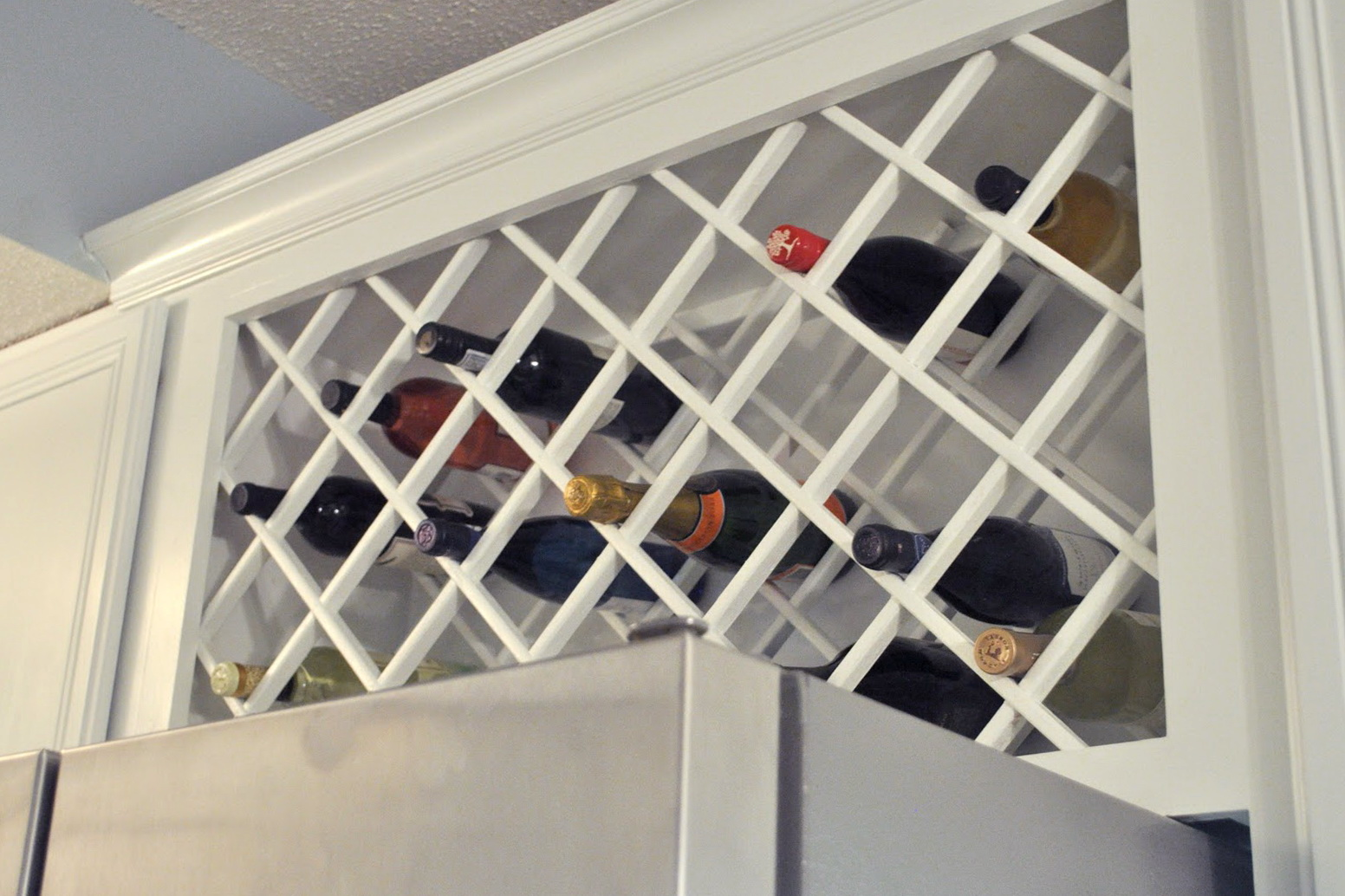 Lattice Wine Rack Plans Home Design Ideas