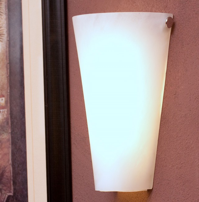 Led Wall Sconce Battery