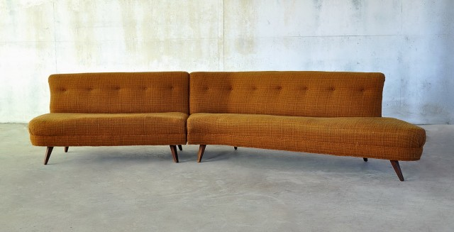 Mid Century Modern Loveseat For Sale