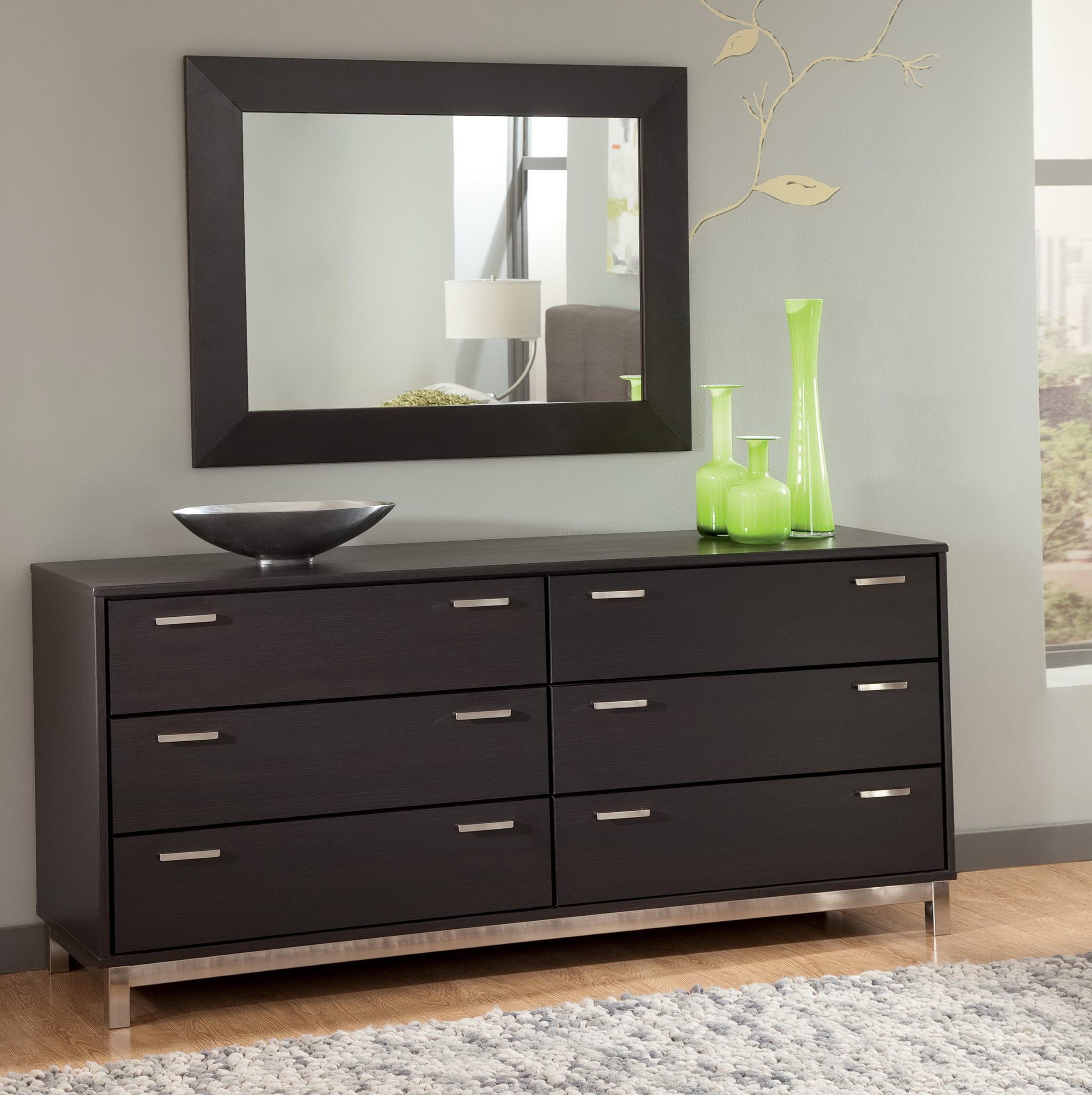 Permalink to Modern Vanity Dresser With Mirror