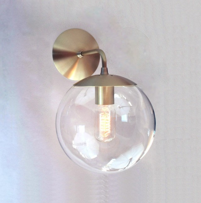 Outdoor Wall Sconce Globe