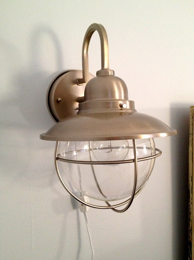 Plug In Sconce Modern