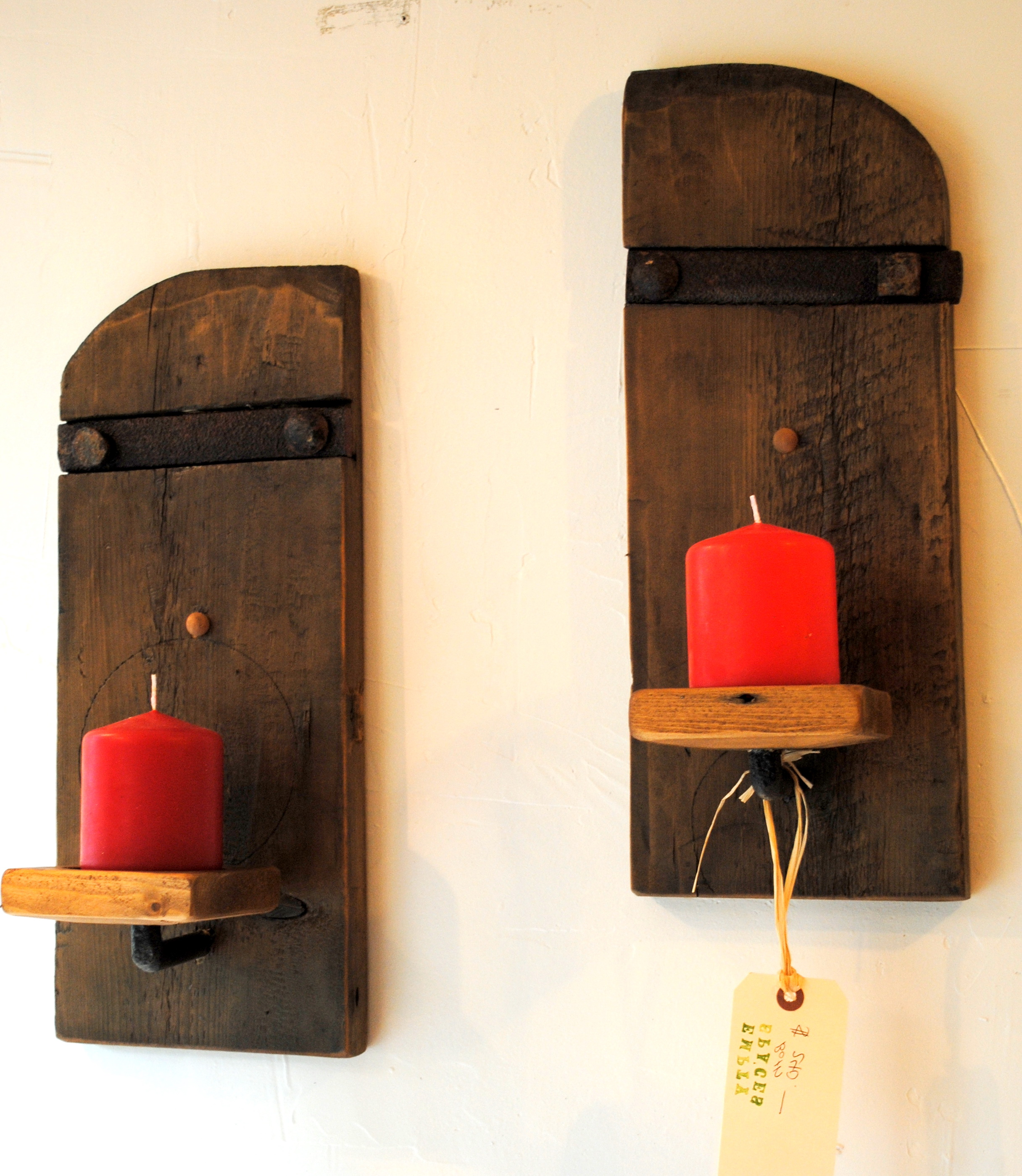 rustic candle wall sconces - Rustic Candle Wall Sconces