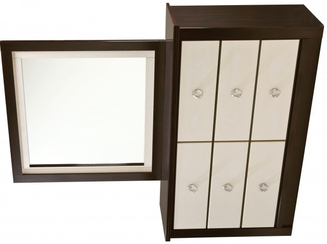 Six Drawer Dresser With Mirror