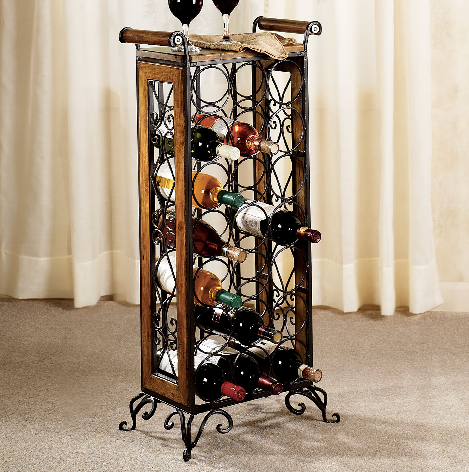 rack small ideas buy wine tag metal articles racks full with size cheap wooden