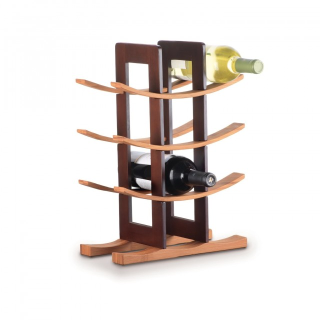 Small Wine Rack With Shelf
