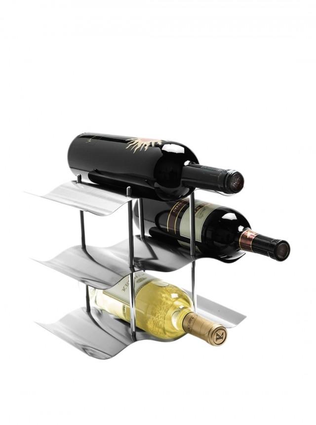 Stainless Steel Wine Rack Top Chrome Stainless Steel Wine