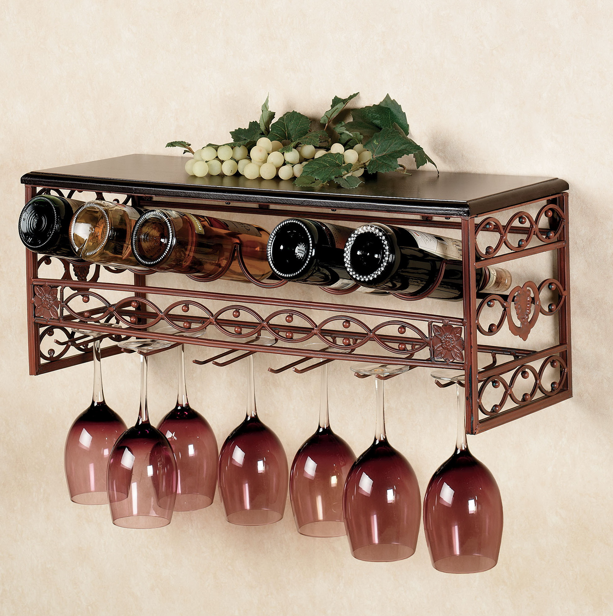 Wall Mounted Wire Wine Racks Home Design Ideas