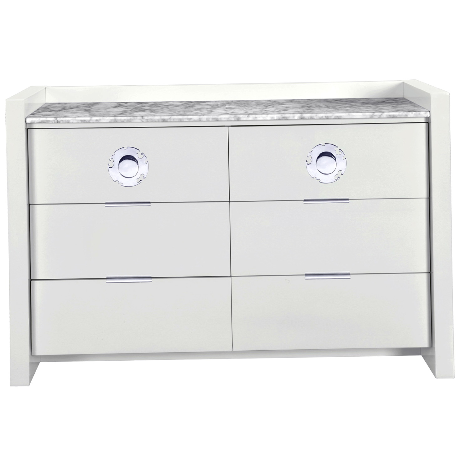 Permalink to White Marble Top Dresser