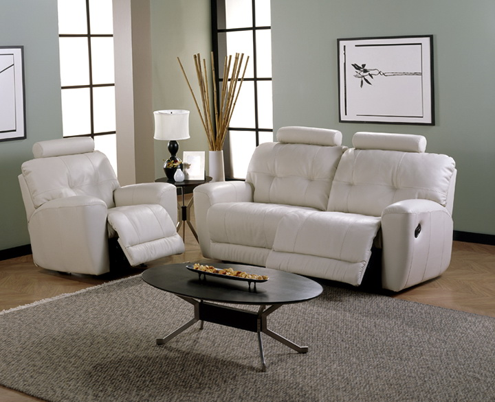 Permalink to White Reclining Sofa And Loveseat
