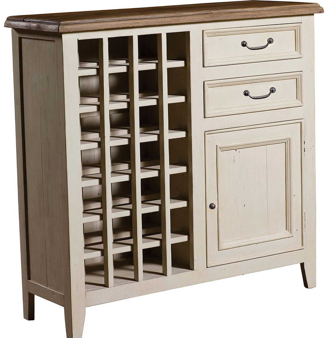 Permalink to White Wine Rack Cabinet