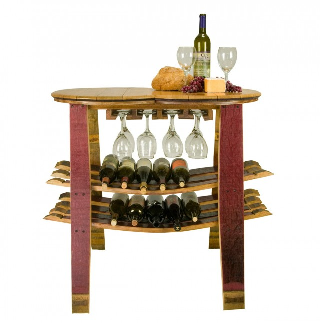 Wine Barrel Wine Rack Furniture