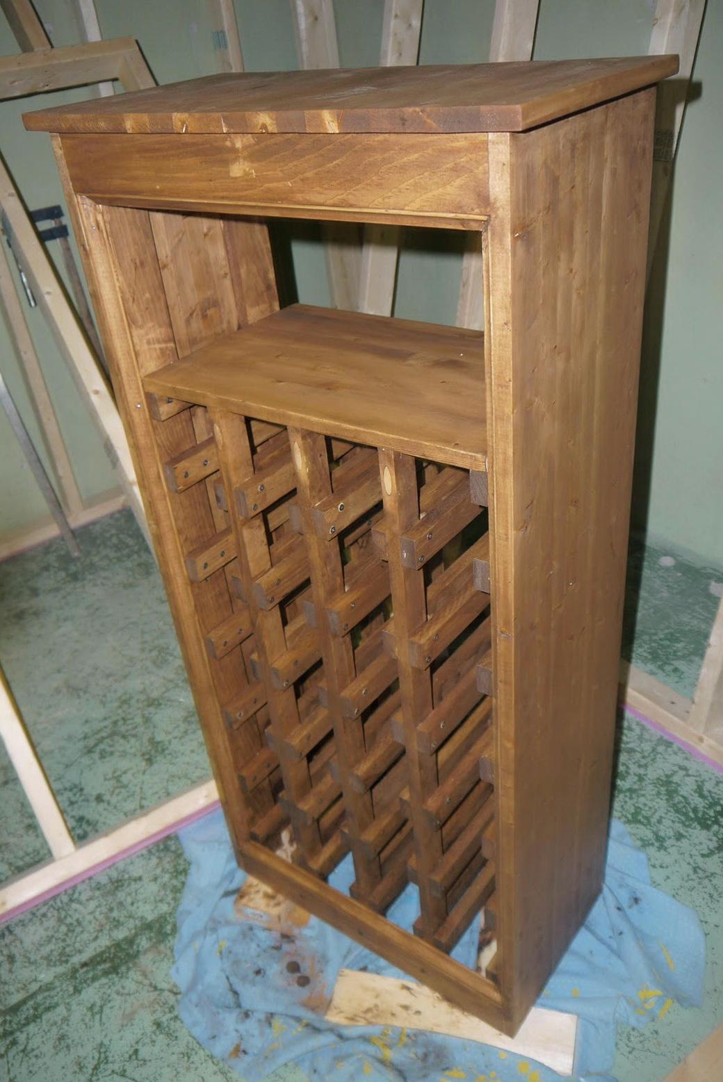 Permalink to Wine Rack Shelf Diy