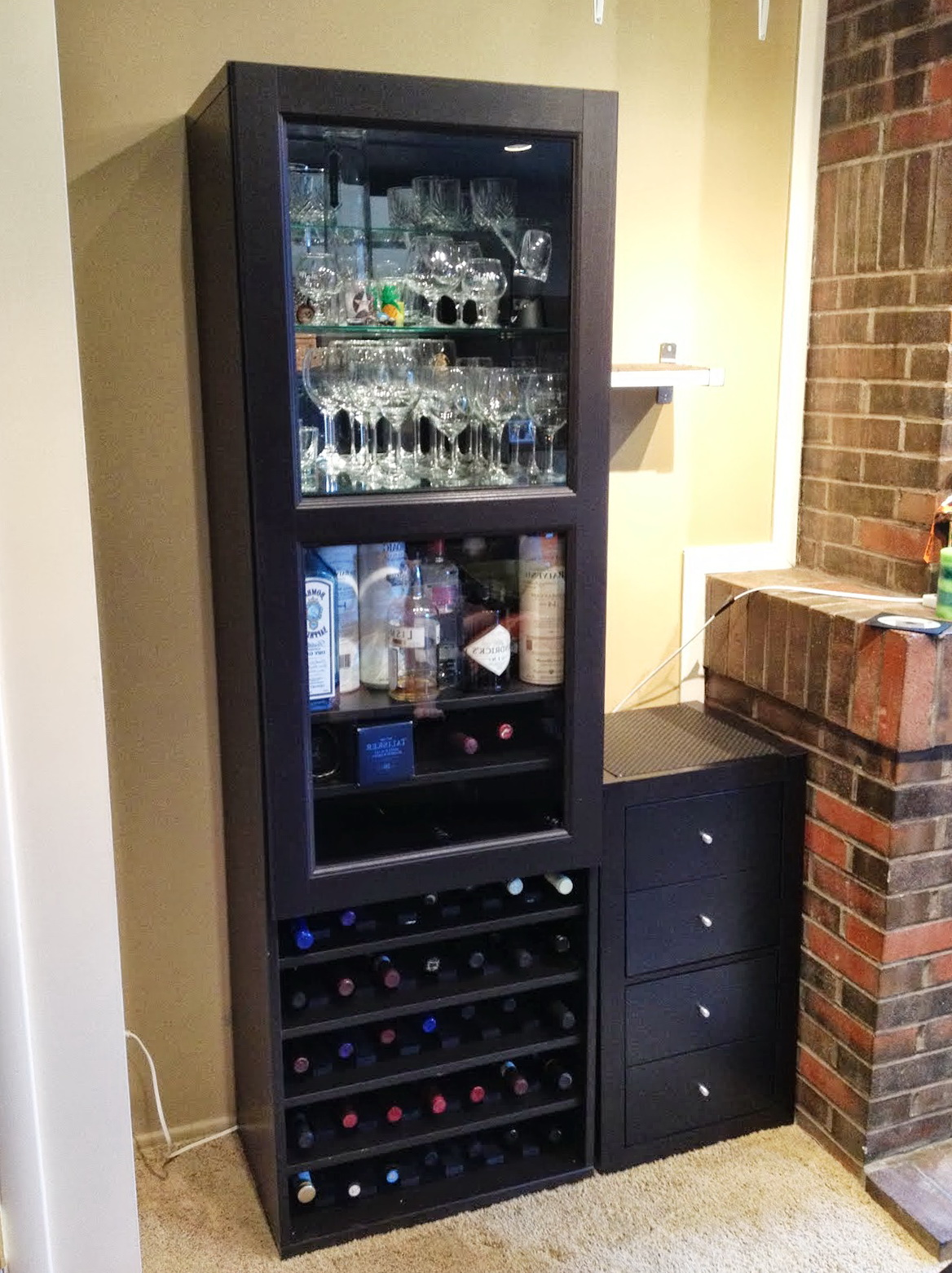 Wine Rack Shelf Insert