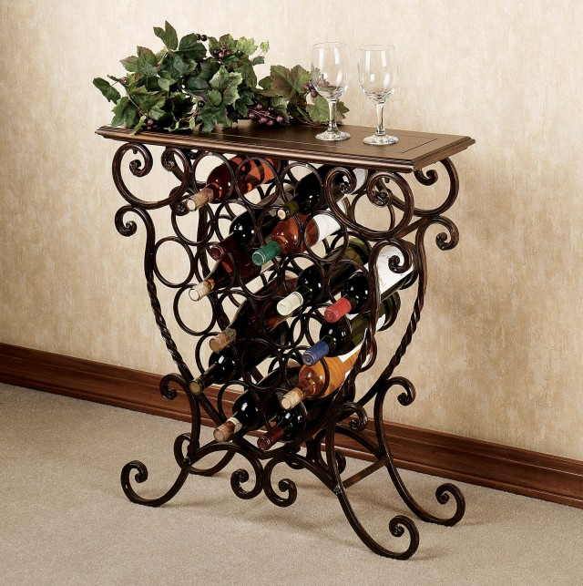 Small wine racks for sale home design ideas - Weinregal fur die wand ...