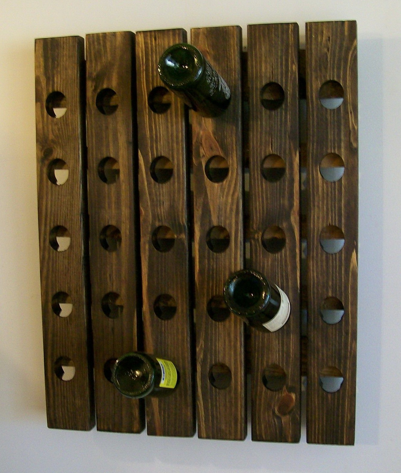 Permalink to Wood Wine Rack For Wall