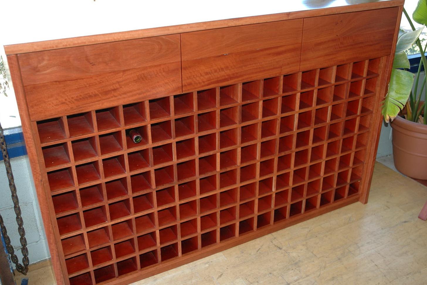 Permalink to Wooden Wine Cellar Racks