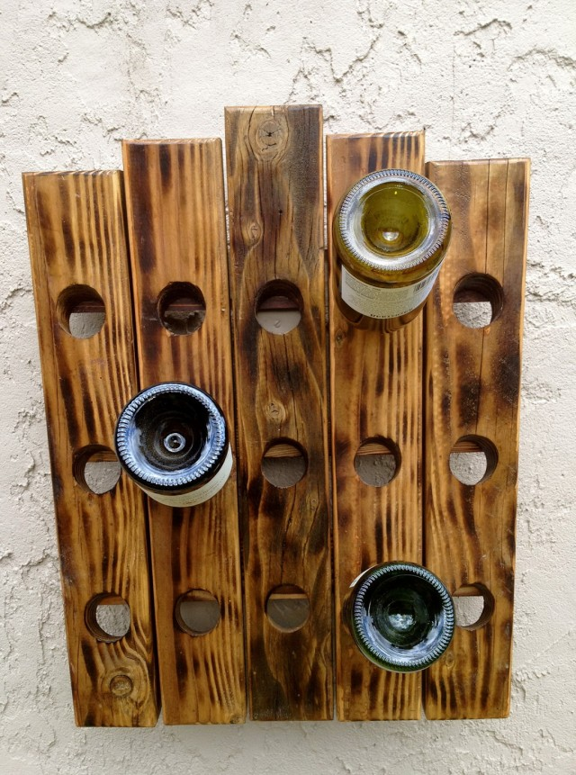 Wooden Wine Rack Diy
