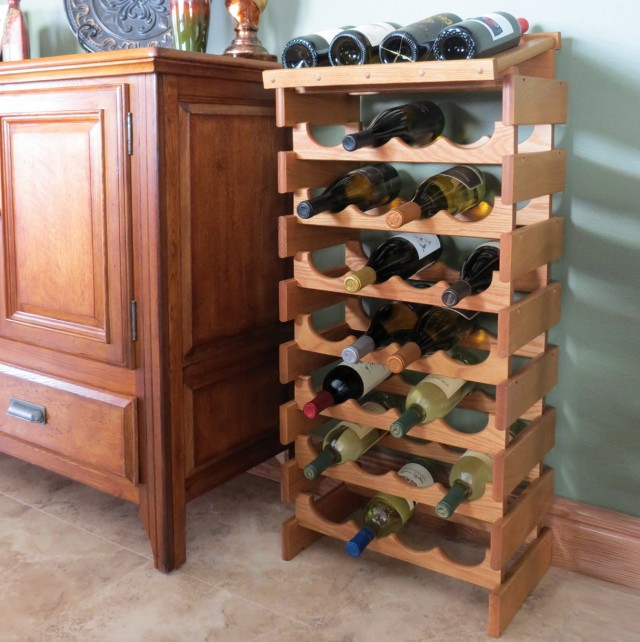 Wooden Wine Rack Plans