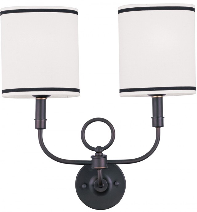 2 Light Outdoor Wall Sconce