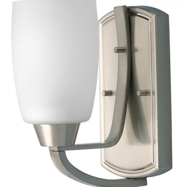 Bathroom Lighting Sconces Brushed Nickel