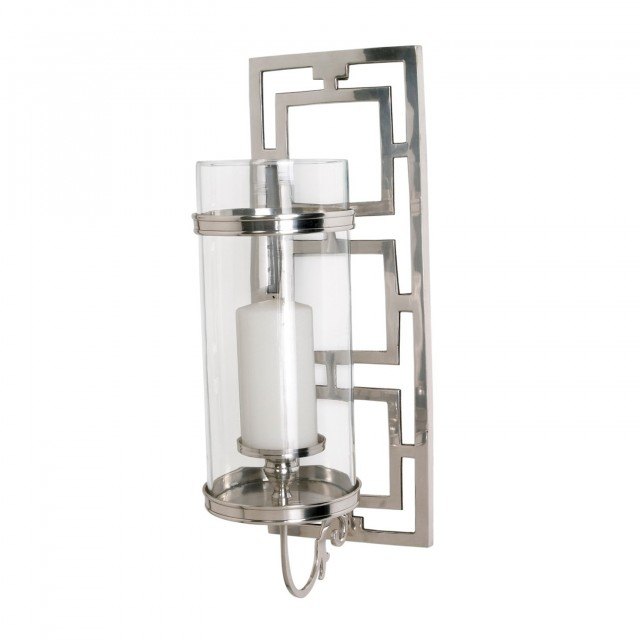 Brushed Nickel Sconces Candle