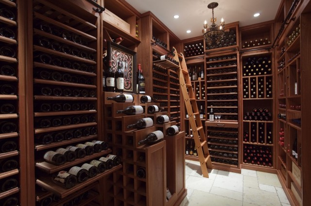 Custom Home Wine Cellars