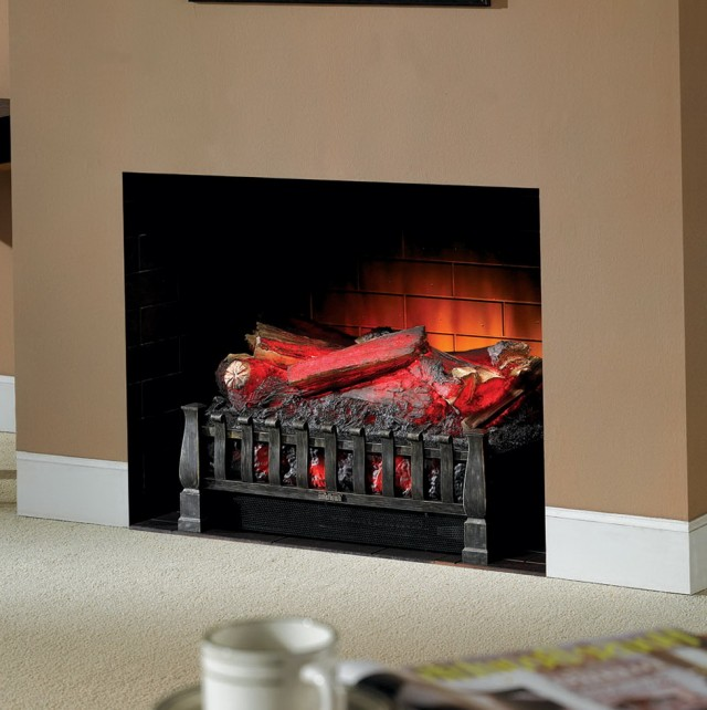 Electric Fireplace Logs With Heat And Sound Home Design Ideas