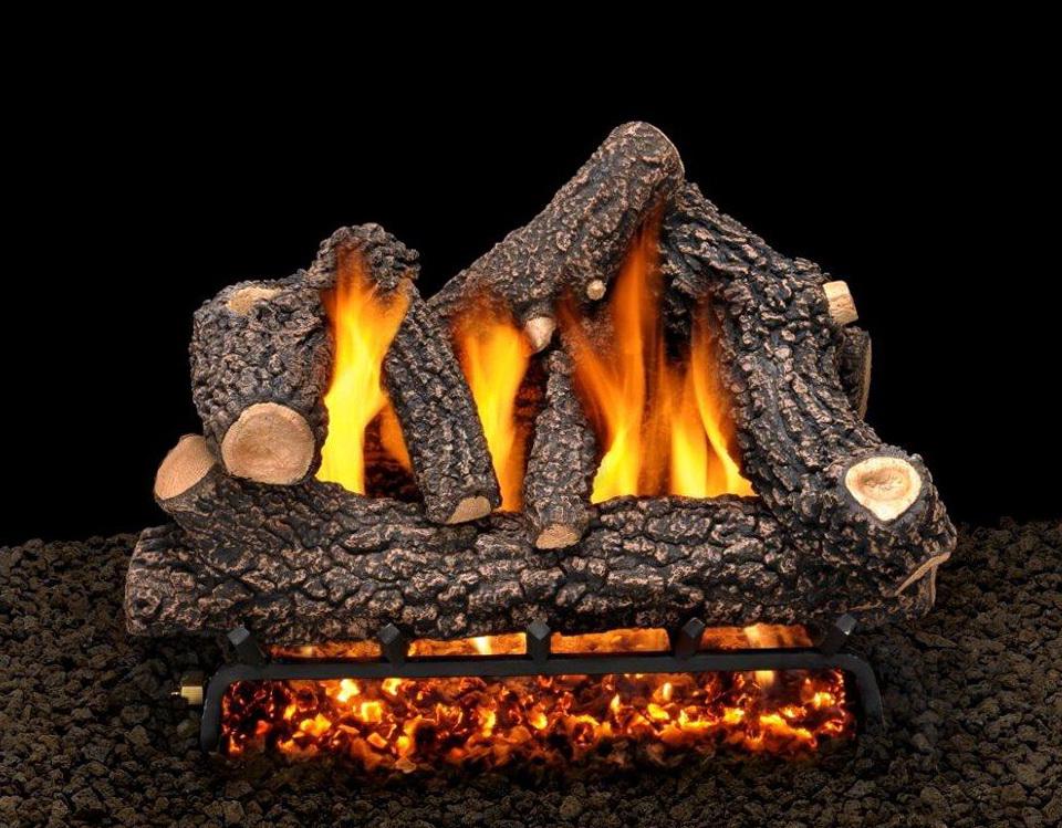 Fake Logs For Gas Fireplace   Home Design Ideas
