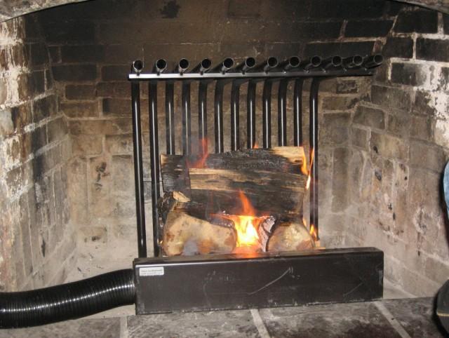 Fireplace Heat Exchanger Blower