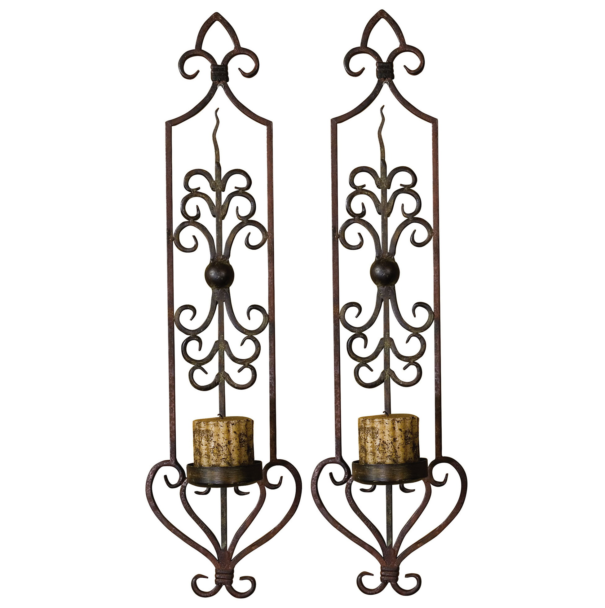 metal wall sconces decor